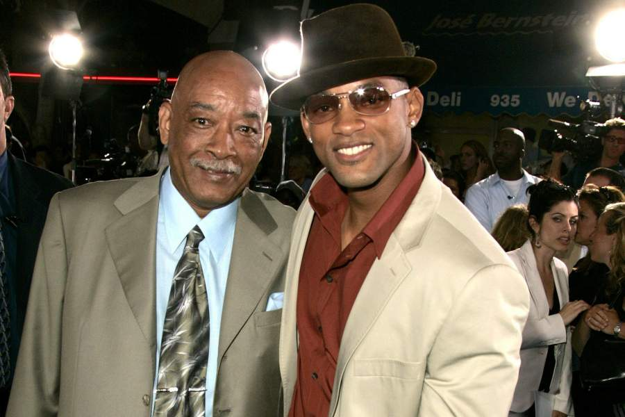 Will Smith with father Willard Carroll Smith