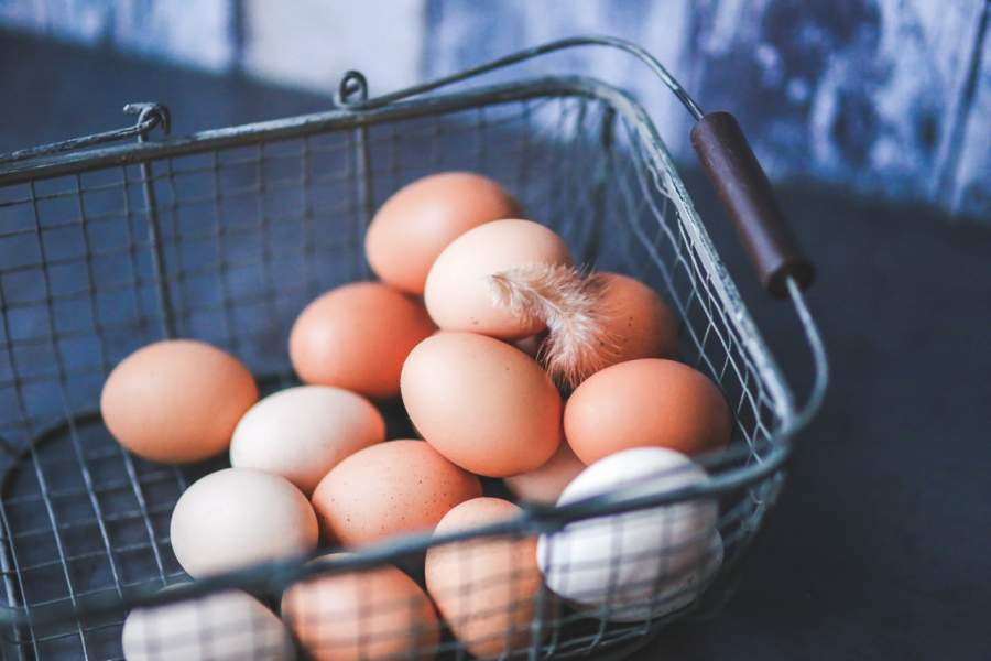 White Eggs And Brown Eggs