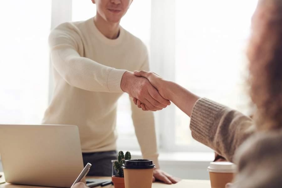 Avoid shaking hands
