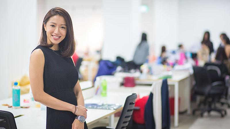 Rachel Lim started her blog shop