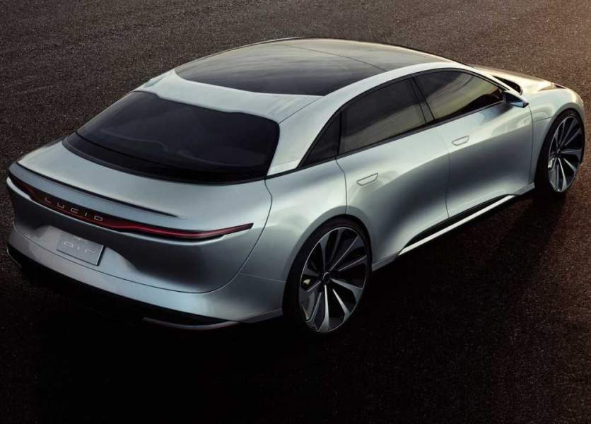 2021 Lucid Air The pricing