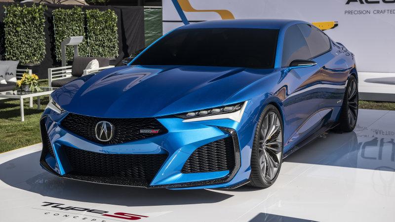 Acura TLX Type S 2021 price details