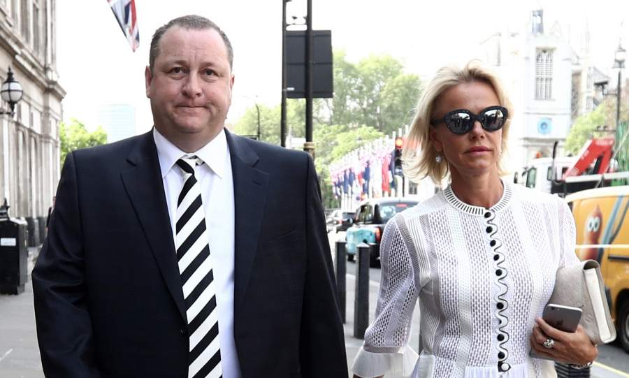 Mike Ashley ex wife Linda Jerlmyr