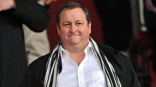 Mike Ashley Life and career