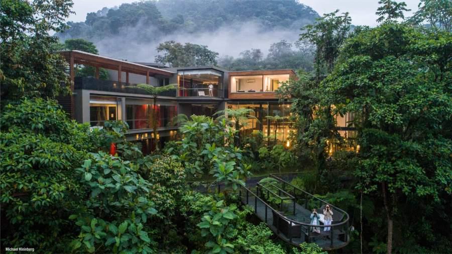 Mashpi Lodge Luxury Hotel Amid The Wildlife