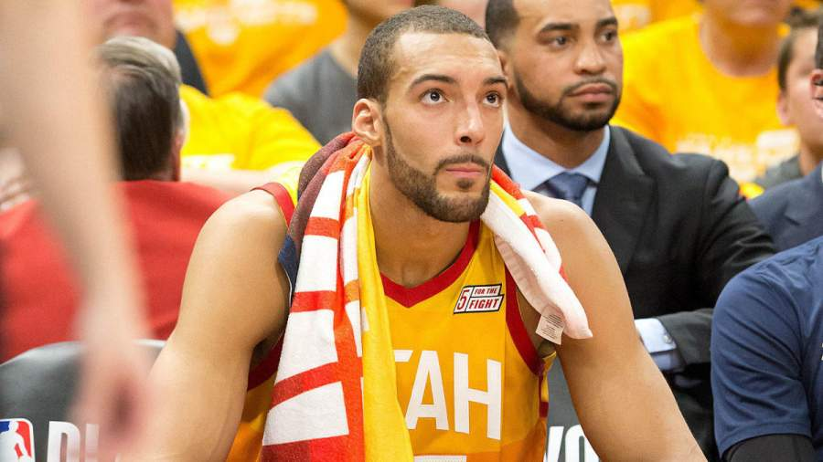 Rudy Gobert Early life and job