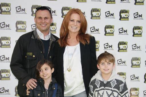 Patsy Palmer Family