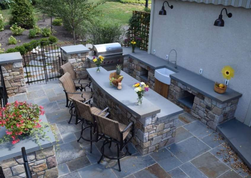 Move your living area outdoors