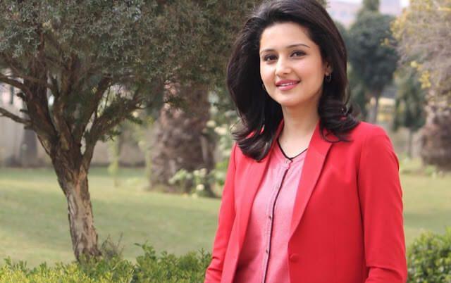 Chitra Tripathi ABP New Anchor