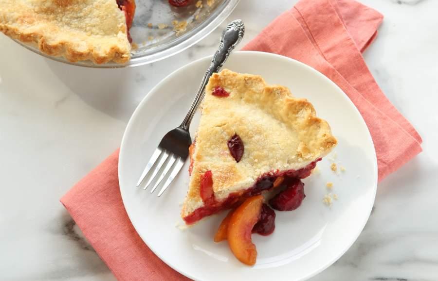 Summer fruits Pie