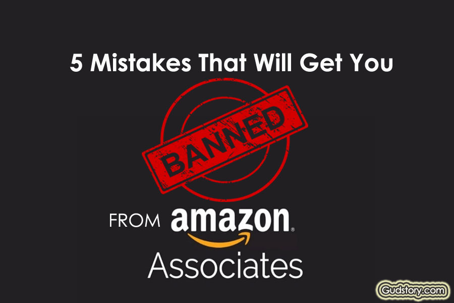 Banned From The Amazon Associates Program