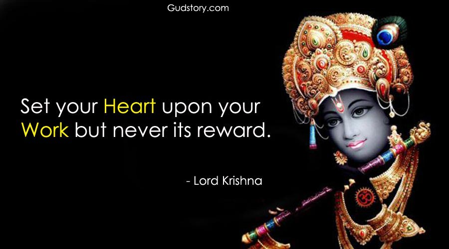 famous quotes by Lord Krishna