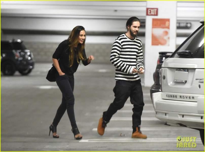 Ria Sommerfeld with HusbandTom Kaulitz