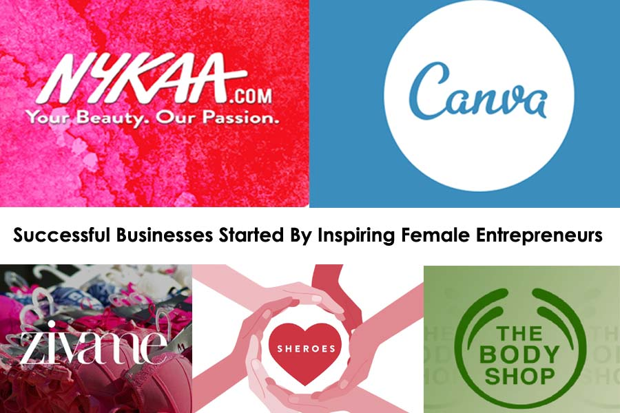 Businesses Started By Female Entrepreneurs