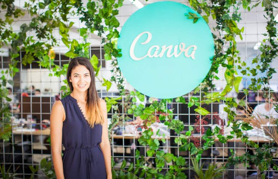 Melanie Perkins, Co-founder, and CEO of Canva