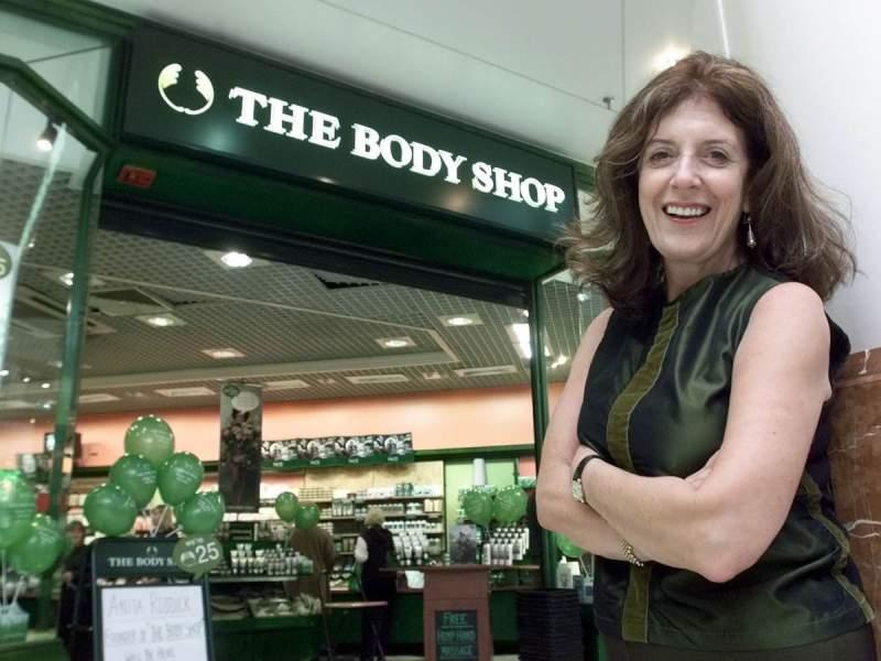 Anita Roddick, Founder, The Body Shop
