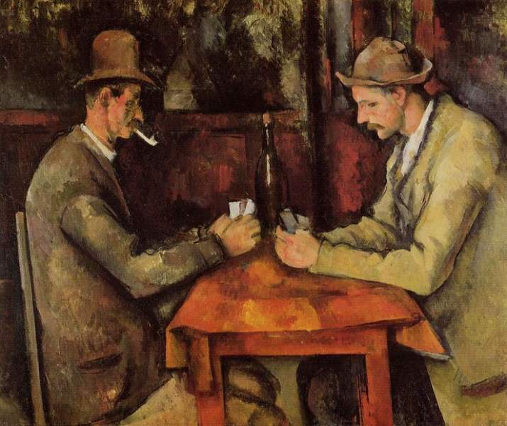 Paul Cézanne's The Card Players
