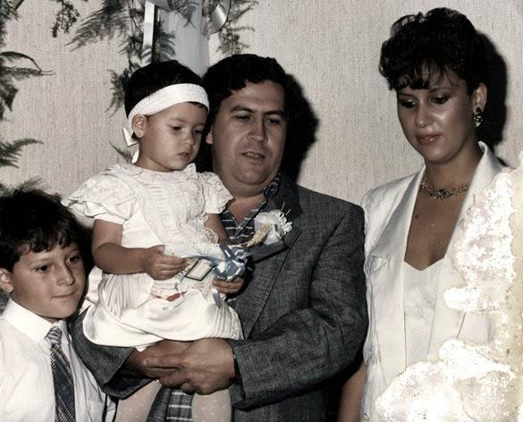 Manuela Escobar's Father Pablo Escobar