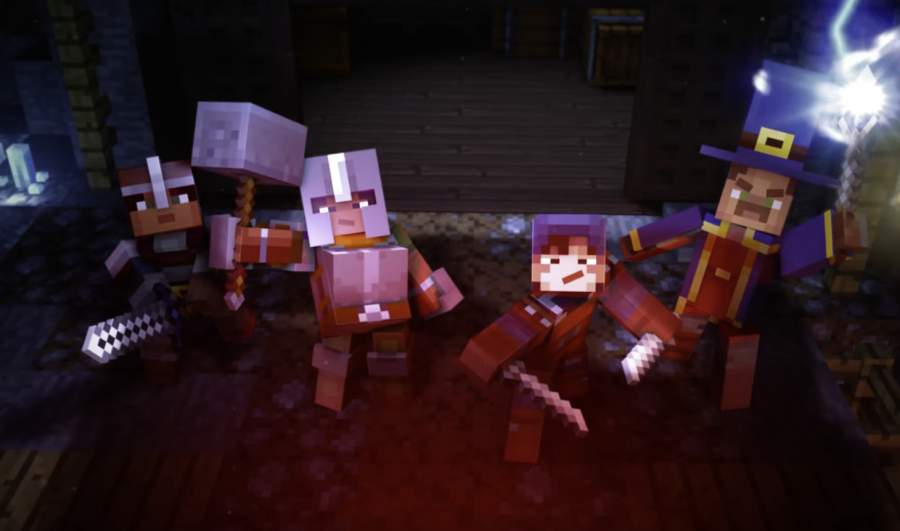 Minecraft Dungeons game features