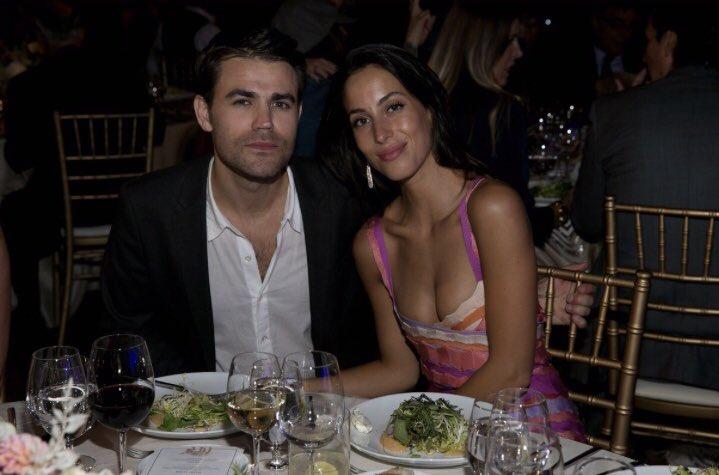 Paul Wesley and Ines De Ramon