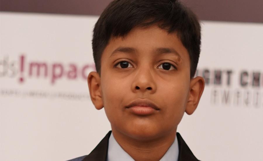 9 Year Old Reyansh Gaur