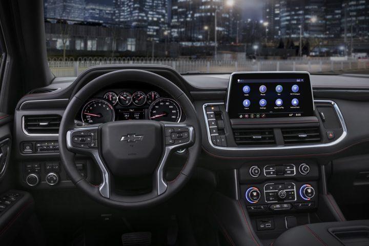 2021 Chevrolet Tahoe Interior Design
