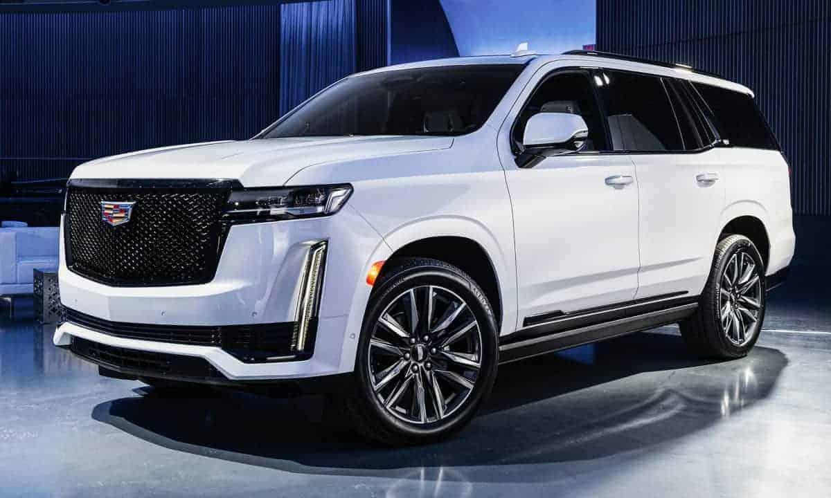 2021 Cadillac Escalade Release Date