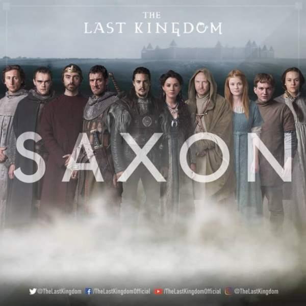 The Last Kingdom Saxon Stories Poster