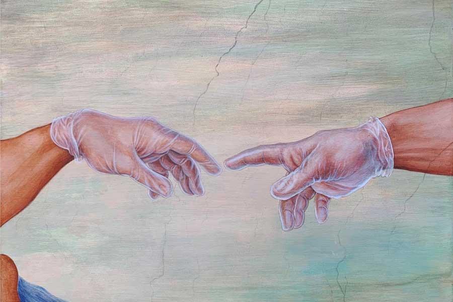 Prerequisite, Acrylic on canvas, 2020