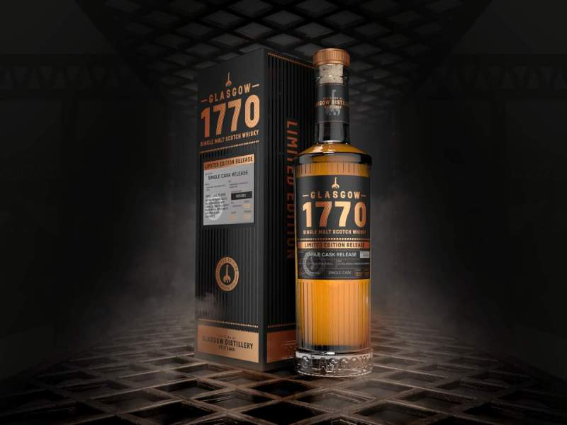 Glasgow Distillery's 1770 Single Malt Triple Distilled