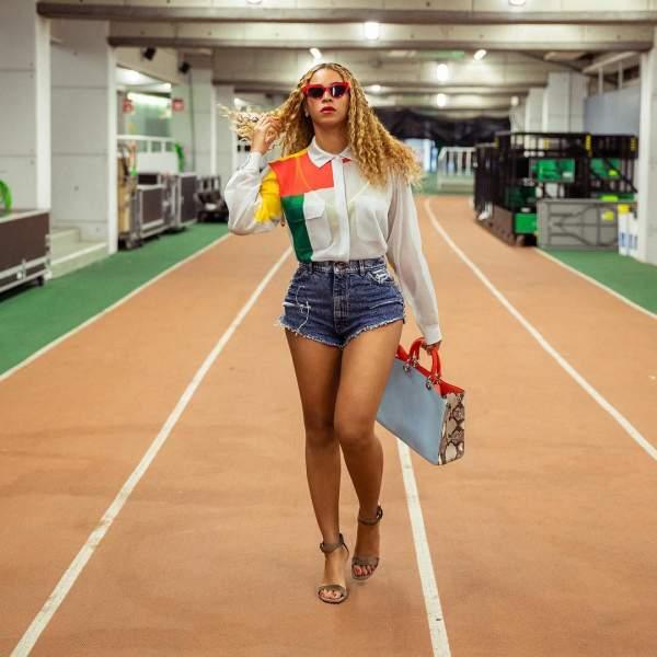 Beyonce Pear Shape Figure