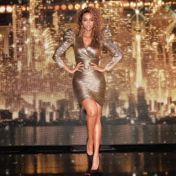 Tyra Banks Apple Shape Figure