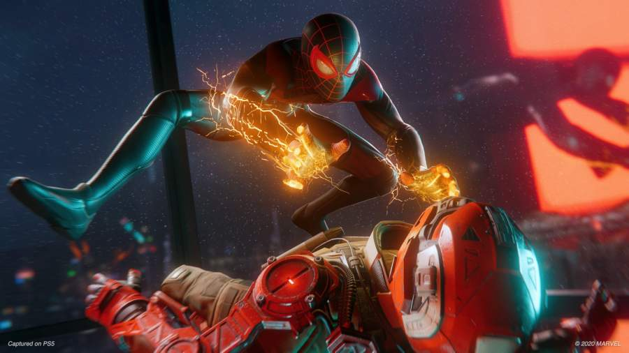 Marvel's Spider-Man Miles Morales game