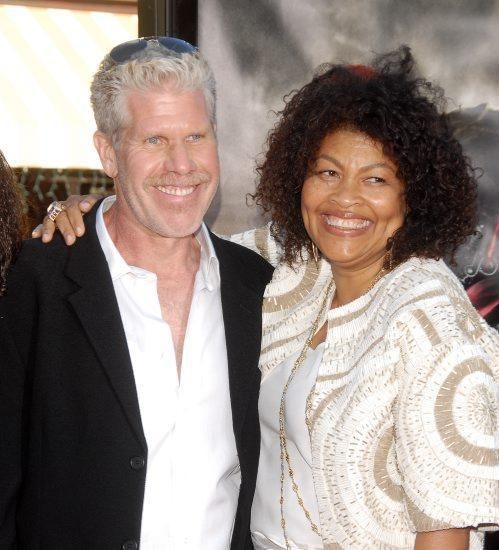 Opal Stone and Ron Perlman