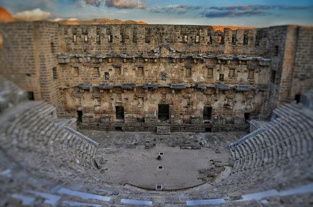 Roman theatre of Aspendos