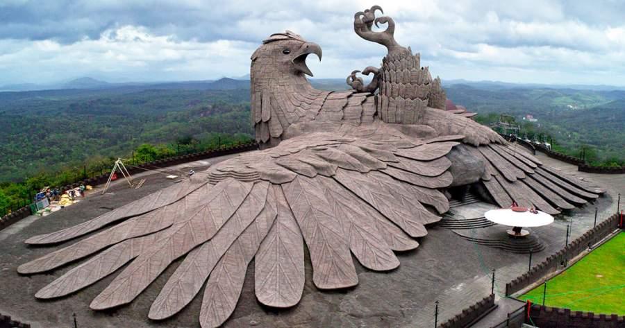 Jatayu Bird Sculpture
