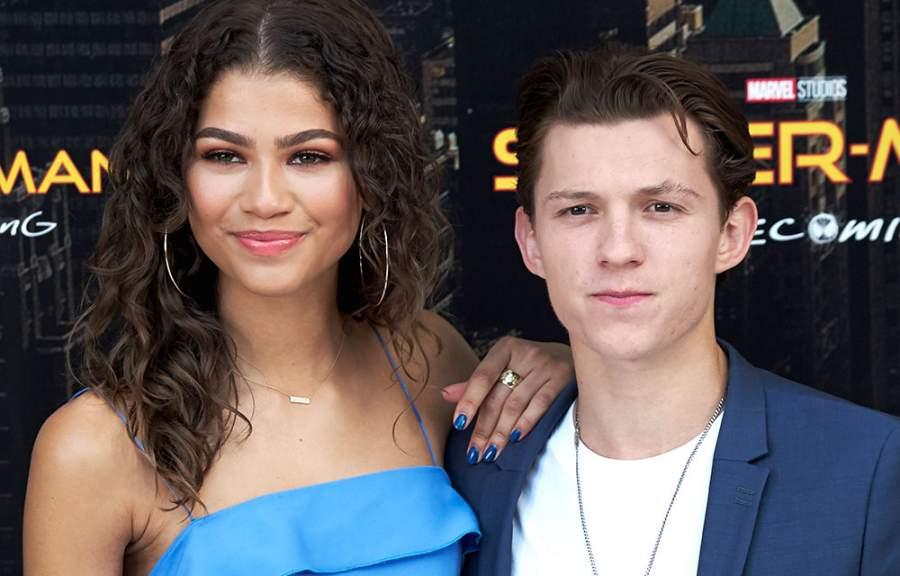 Tom Holland girlfriend Zendaya
