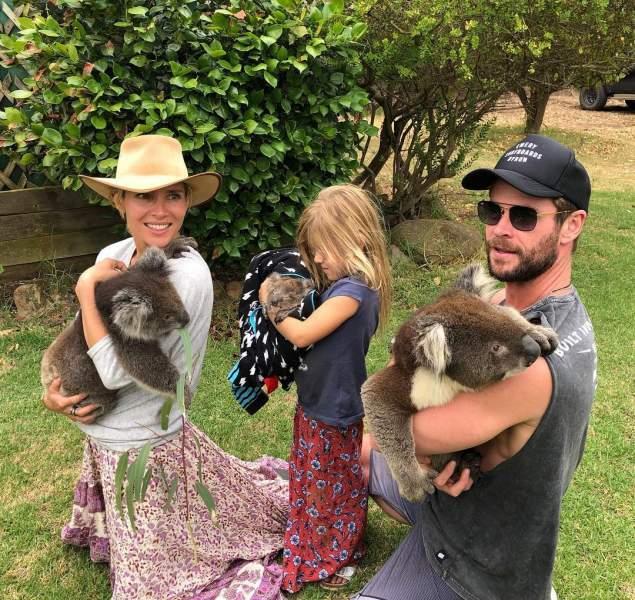 Elsa Patay husband Chris Hemsworth