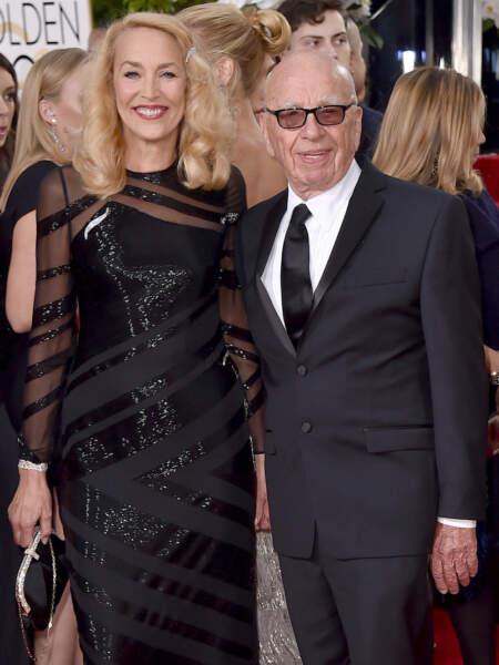 Jerry Hall husband Rupert Murdoch