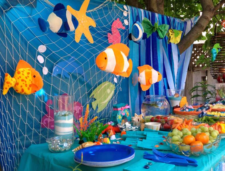 Sea Themed Party