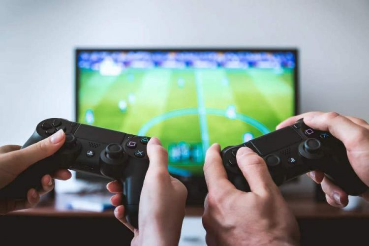 Two game controllers