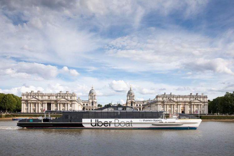 Uber Boat Service in London