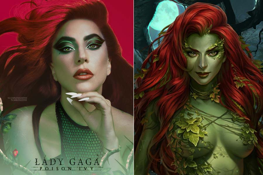 Lady Gaga Will Play Poison Ivy In Batman Here Is What She Will Look Like Gud Story