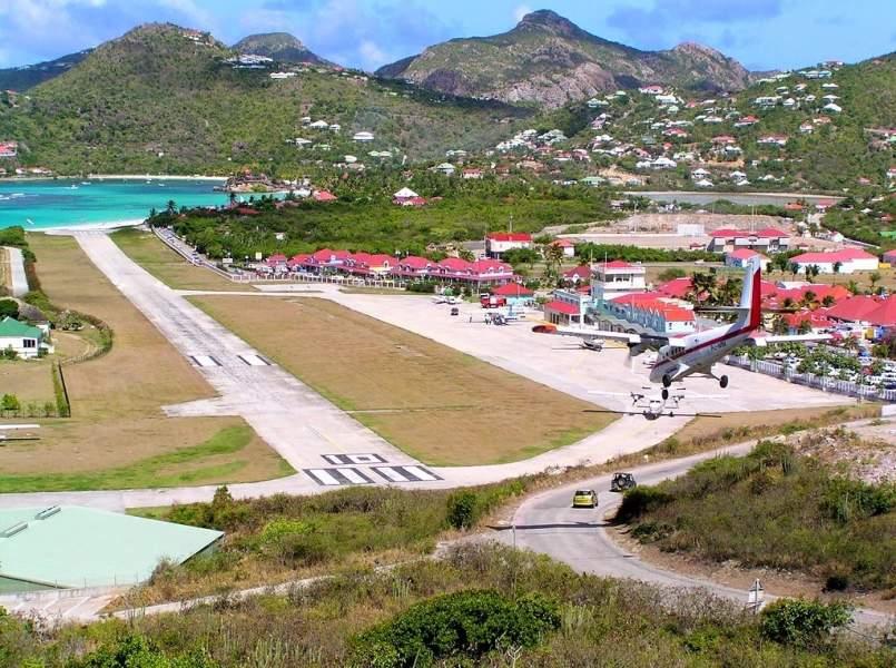 Gustaf III Airport -St. Barts