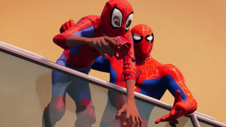 Spider-Man into The Spiderverse 2