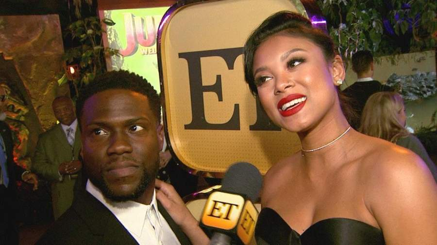 Kevin Hart's wife Eniko Parrish
