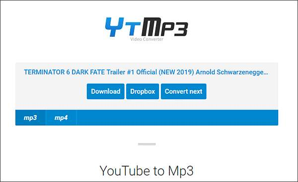YouTube to MP3 (YTMP3)