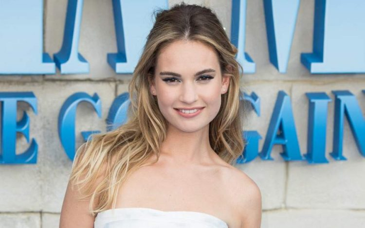 Lily James Biography