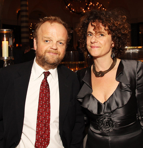 Toby Jones wife Karen