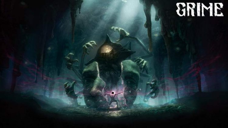 Soulslike Metroidvania Grime release date